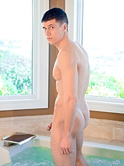 Jett Ryan in the bathroom - Gay porn pics at GayStick.com