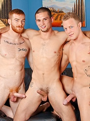 3 hard cocks - Gay porn pics at GayStick.com