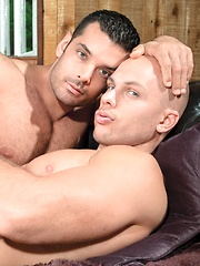 Marcus Ruhl fucks Angelo - Gay porn pics at GayStick.com