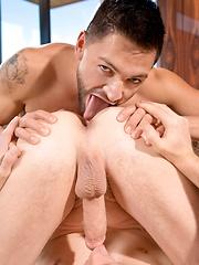 Big tanned cock drills gay ass - Gay porn pics at GayStick.com