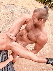 Ass fucking on a car - Gay porn pics at GayStick.com