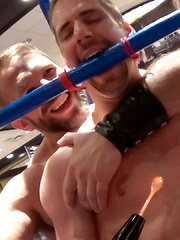 Dirk Caber and Jarrod Locke - Gay porn pics at GayStick.com
