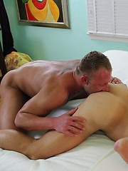 Preston Johnson hungry hole was ready to take Christian fully erect cock - Gay porn pics at GayStick.com