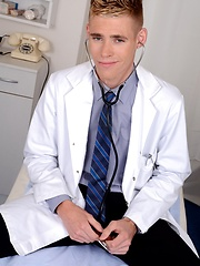 The Doctor Will See You Now – And For This Cute Student That Means A Hard, Raw Ass-Fuck! - Gay porn pics at GayStick.com