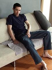 Hot brunette boy jacking off - Gay porn pics at GayStick.com