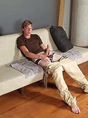 Tom Moore shows his very long cock - Gay porn pics at GayStick.com