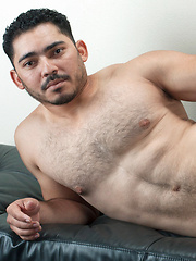 Mikael Warren debuts in his first bareback scene with veterans Gio Ryder and Miguel Temon - Gay porn pics at GayStick.com