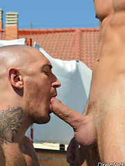 Pure real sexual chemistry is captured in this straight to the point fuck out - Gay porn pics at GayStick.com