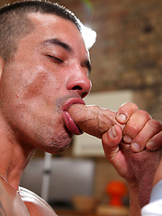 Hot gay fuck on the massage table - Gay porn pics at GayStick.com