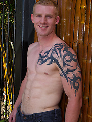 Sweet blonde guy Tim - Gay porn pics at GayStick.com