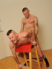 Dick Disco and Drew Driver are two horny UK fuckers - Gay porn pics at GayStick.com