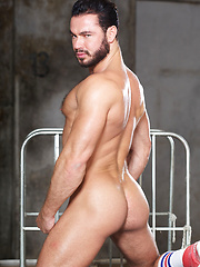 Porn stud Jessy Ares gets into the ring with Ricky, his Berlin-based lover. Ricky is gorgeous too... - Gay porn pics at GayStick.com