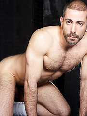 Sexy blonde beast Hans gives it to Michel's hot bearded face, shoving his fat meat deep down his ... - Gay porn pics at GayStick.com