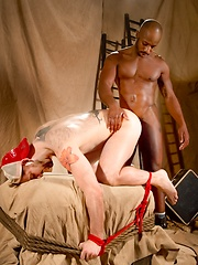 Boy gets nasty black cock - Gay porn pics at GayStick.com