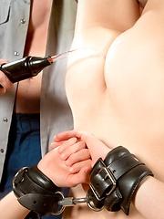 Blake dominates Blue - Gay porn pics at GayStick.com