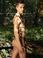 Daniel Prince Takes His Friend For A Forest Walk – Then Fucks His Pretty Brains Out! - Gay porn pics at GayStick.com