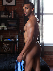 Jay Landford is a tall and dark drink of water - Gay porn pics at GayStick.com