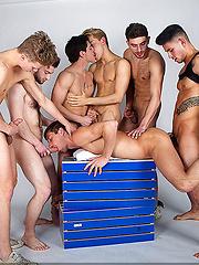 Top CockyBoys models have wild gay orgy - Gay porn pics at GayStick.com
