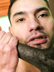 White Guy's Black Cock Guilty Pleasures - Gay porn pics at GayStick.com