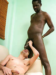 White Guy's Black Cock Guilty Pleasures - Gay porn pics at GayStick.com