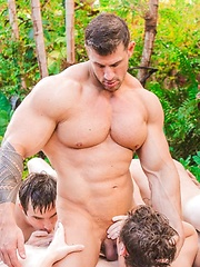 Hot Group Sex Fun with Dallas and Friends - Gay porn pics at GayStick.com