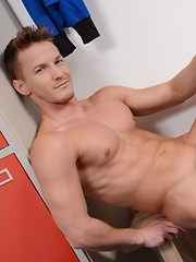 "Brad Fitt Gets Caught Sniffing Jocks & Gets Fucked By A Hot, Horny Stud As ""Punishment""! - Gay porn pics at GayStick.com"