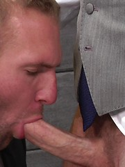 Theres always that hot guy at work that you just wish you had the balls to come-on to - Gay porn pics at GayStick.com