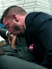 Scott Hunter get fucked hard and rough by Adam Dacre - Gay porn pics at GayStick.com