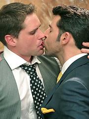 Dario Beck fucks his office buddy - Gay porn pics at GayStick.com