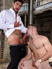 Leo Demonico Gives Adam Wirthmore A Huge Bargaining Tool - Gay porn pics at GayStick.com