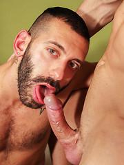 Two gay dads Italo Gang and Joe Delot - Gay porn pics at GayStick.com