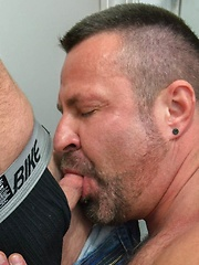 Marc Angelo Power Bottoms For Cooper Hill - Gay porn pics at GayStick.com