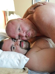 Billy Thorne Pounded By Daddy Bear Taylor Michael - Gay porn pics at GayStick.com
