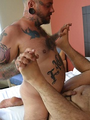 Real Life Lovers Tommy Rocket And Billy Thorne - Gay porn pics at GayStick.com