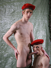 Young twink recruits need alot to keep themselves entertained these days - Gay porn pics at GayStick.com