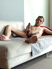Taylor Brooks strokes his giant cock - Gay porn pics at GayStick.com