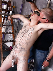 A Sensitive Cock Drained - Gay porn pics at GayStick.com