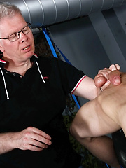 Edged To A Cum Fountain - Gay porn pics at GayStick.com