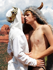 Bareback Riding In The Desert - Gay porn pics at GayStick.com