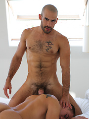 Austin saw Eli's bubble butt and knew he wanted to be inside of it - Gay porn pics at GayStick.com