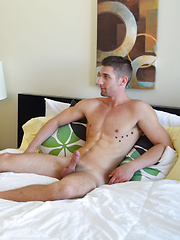 Austin fucks Brad missionary and doggy style before rolling him on his side and fucking the cum out of him - Gay porn pics at GayStick.com