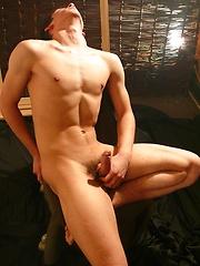 Aidan strokes cock - Gay porn pics at GayStick.com