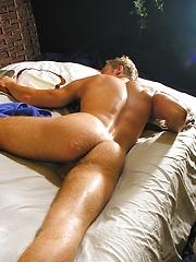 Harry strokes his dick - Gay porn pics at GayStick.com