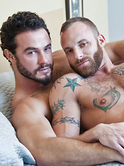 Derek Parker Yearns to Feel Jessy Ares' Uncut Cock Deep Inside Him - Gay porn pics at GayStick.com