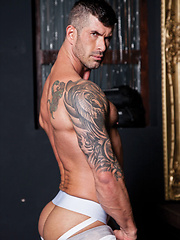 Adam Killian Gets a Workout on Adriano Carrasco's Latin Cock - Gay porn pics at GayStick.com