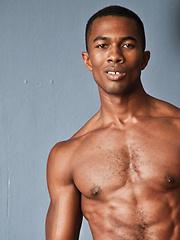 Exclusive Sean Xavier's Big Black Cock Rips Apart Dominic Pacifico - Gay porn pics at GayStick.com