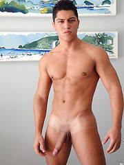 Brazilian Summer continues with 23 year old Vito - Gay porn pics at GayStick.com