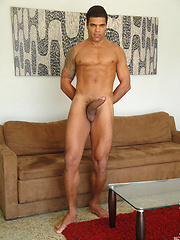 This muscular Brazilian is a giant - Gay porn pics at GayStick.com