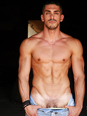 Meet 28 years old Alessandro Basile: ripped, hung, masculine - Gay porn pics at GayStick.com