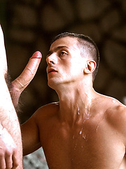 Tall, slender Gennaro drills muscular Erik - Gay porn pics at GayStick.com